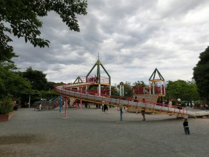 埼玉県上尾市にある公園の大型遊具